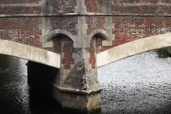 Fye Bridge, Norwich - historic site of the ducking stool
