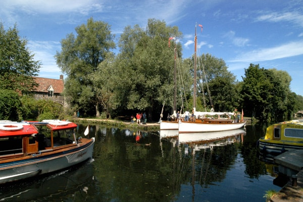 Pull's Ferry and the River Wensum, Norwich, photograph VisitNorwich