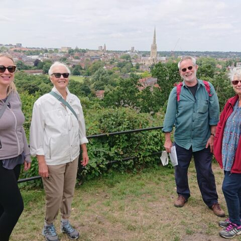 Paul Dickson Guided Tours begin again at Easter