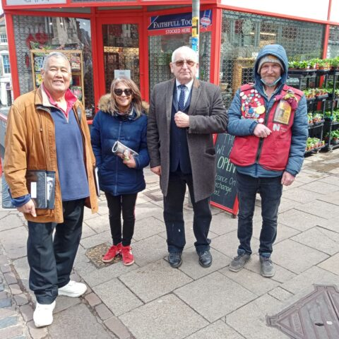 Big Issue Founder Lord John Bird visits Norwich to do Black History tour