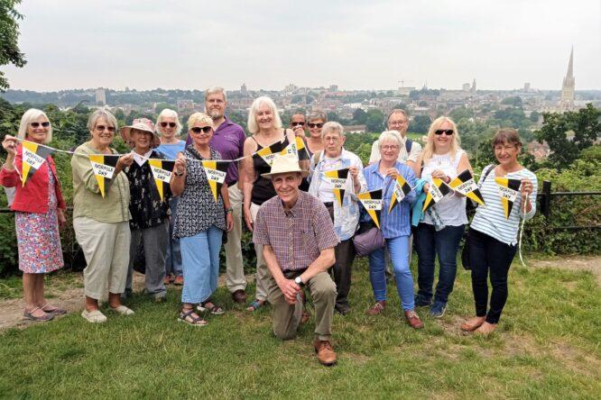 Norfolk Day 21 Shardlakes Norwich tour photo Paul Dickson